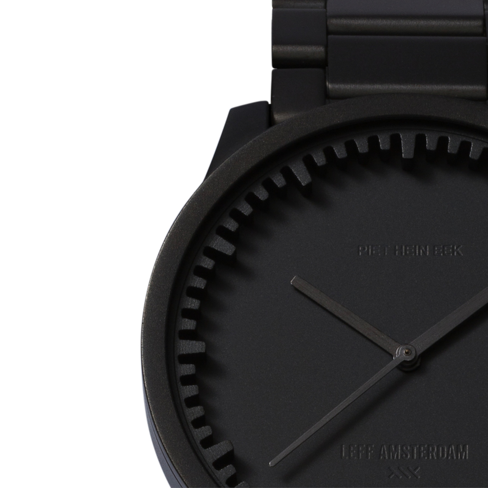 LEFF Matt Black Tube Watch