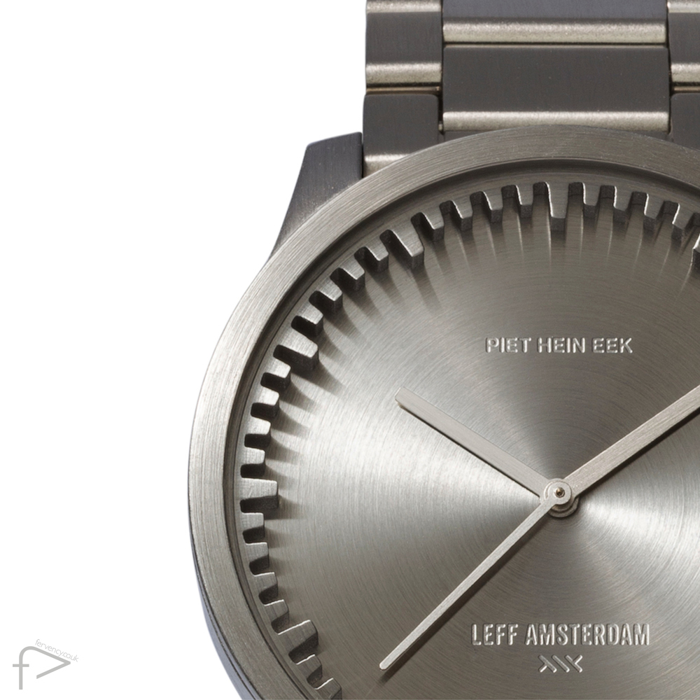 LEFF Stainless Steel Tube Watch