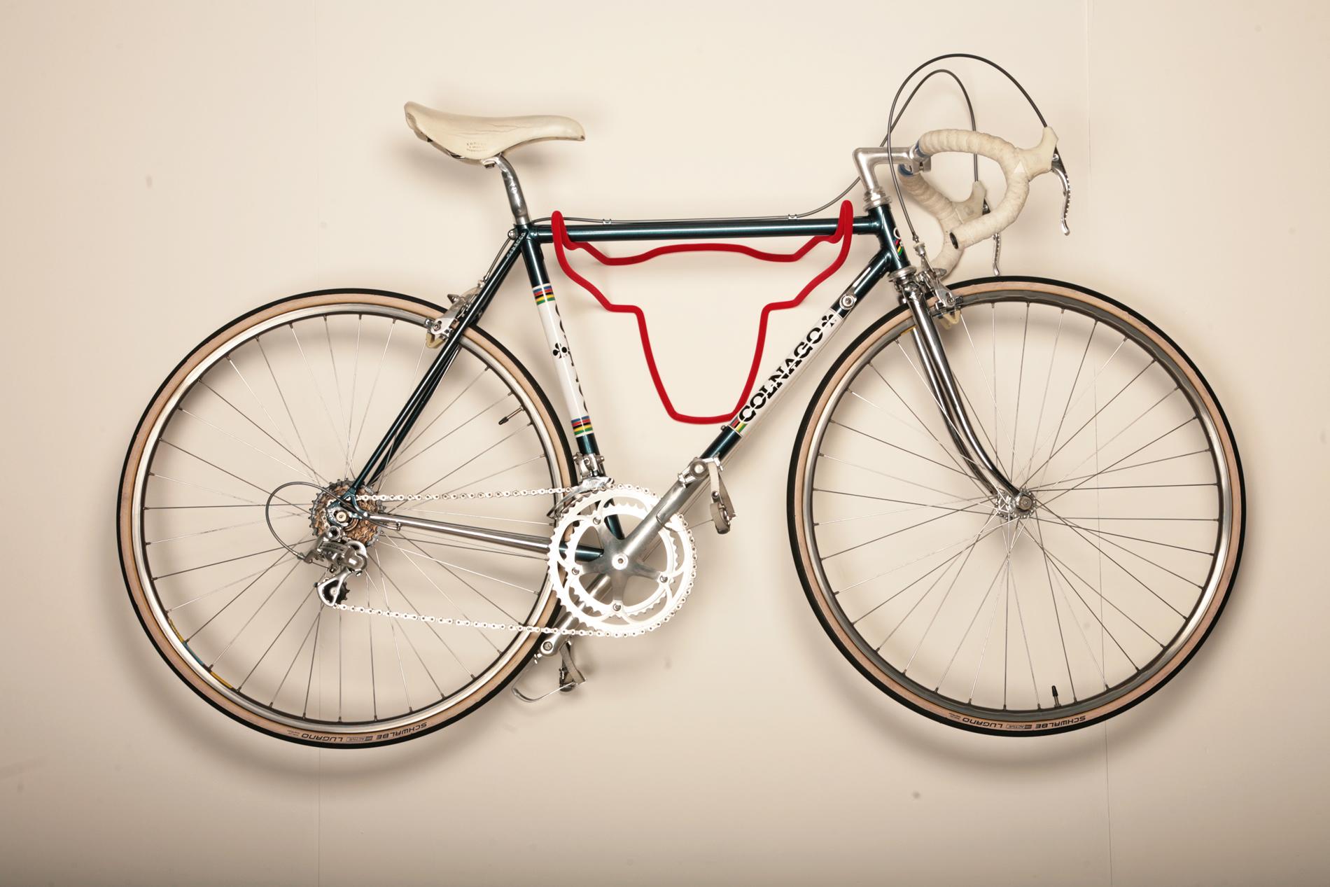 Red Soft Fur Bike Holder