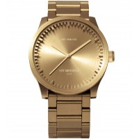 LEFF Amsterdam Brass Watch