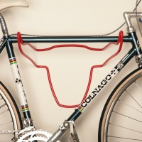Trophy Bull - Bicycle Holder - Soft Plastic Blood Red
