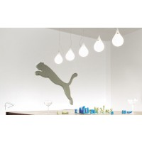 Liquid Light Drop 2 XS Extra Small 5 LONG Ceiling Lights