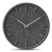 Felt Clock Grey