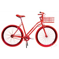 Martone Red Womens Bike