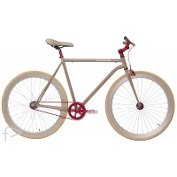 Martone Cycling Mens SWEETZER BEIGE Bike 56cm/52cm
