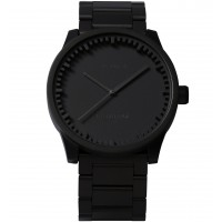 Tube Watch S38 Black Stainless Steel by Piet Hein Eek - LEFF Amsterdam