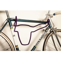Trophy Bull - Bicycle Holder - Short Fur Royal Purple