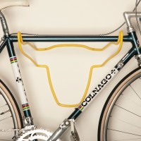 Trophy Bull - Bicycle Holder - Soft Plastic Jersey Yellow
