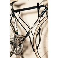Trophy Deer - Bicycle Holder - Short Fur Black