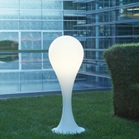 Liquid Light Drop 4 Floor Lamp OUTDOOR