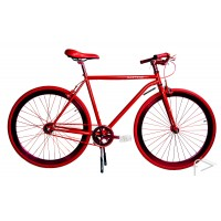 Martone Cycling Mens GRAMERCY RED Bike 56cm/52cm