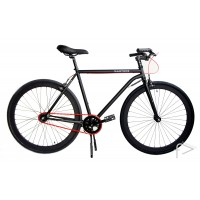 Martone Cycling Mens MERCER BLACK Bike 56cm/52cm