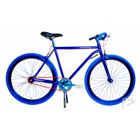 Martone Cycling Mens CHELSEA BLUE Bike 56cm/52cm