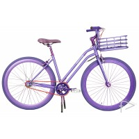Martone Cycling Womens LA JOLLA Purple Bike 44cm
