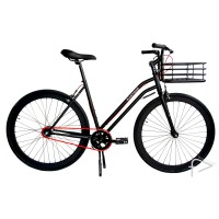 Martone Cycling Womens MERCER Black Bike 44cm