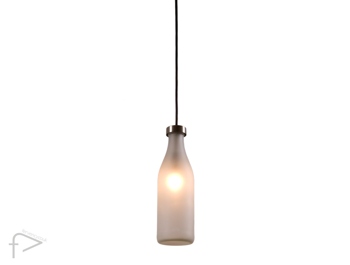 Droog Milk Bottle Pendant Light