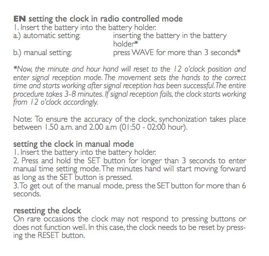 LEFF One Radio Control Instructions
