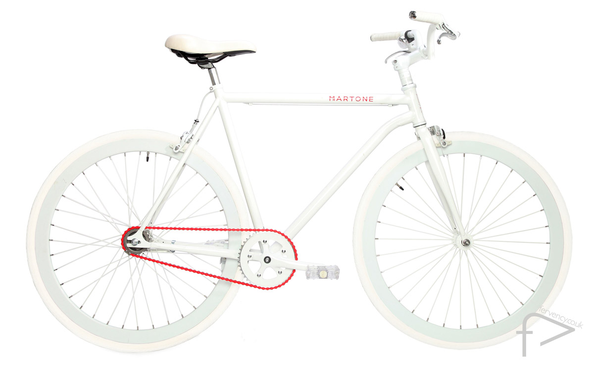 Pure White Bike UK